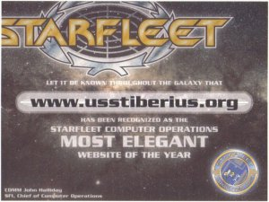 2009 STARFLEET Web Award - Most Elegant Website
