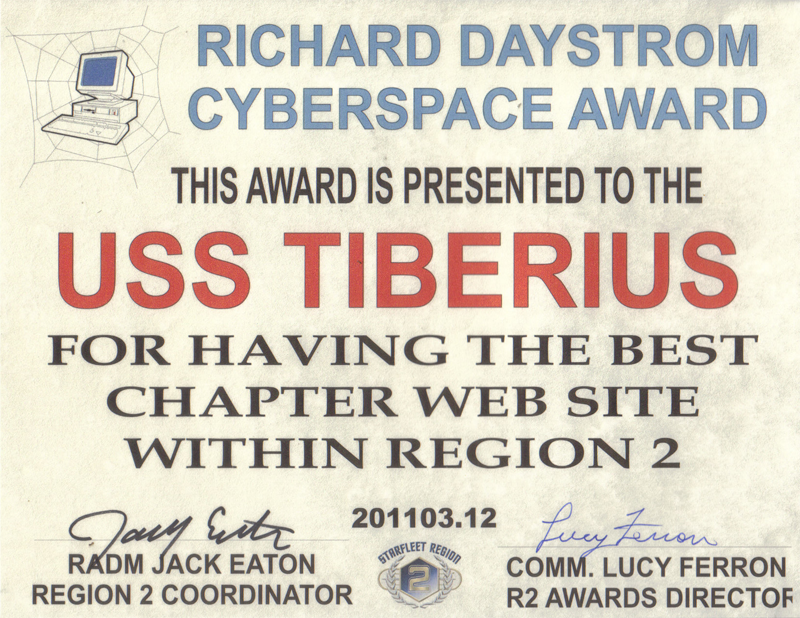 2010 Region Two Web Award - Best Chapter Website